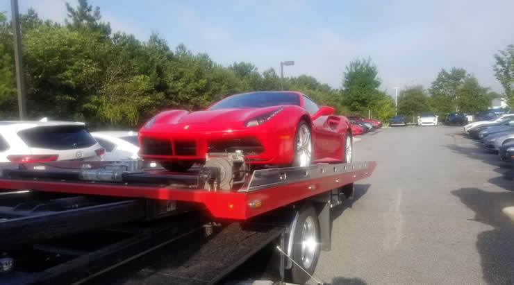 Local Roswell towing services